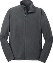 Mens Full Zip Microfleece Jacket