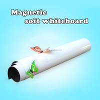 Magnetic Whiteboard Writing Flexible Removable Home Decoration Message Fridge Flexible White Board for Kids Memo Pad