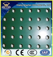 Hexagonal perforated metal sheet/ Hexagonal perforated metal mesh/ Hexagonal perforated metal
