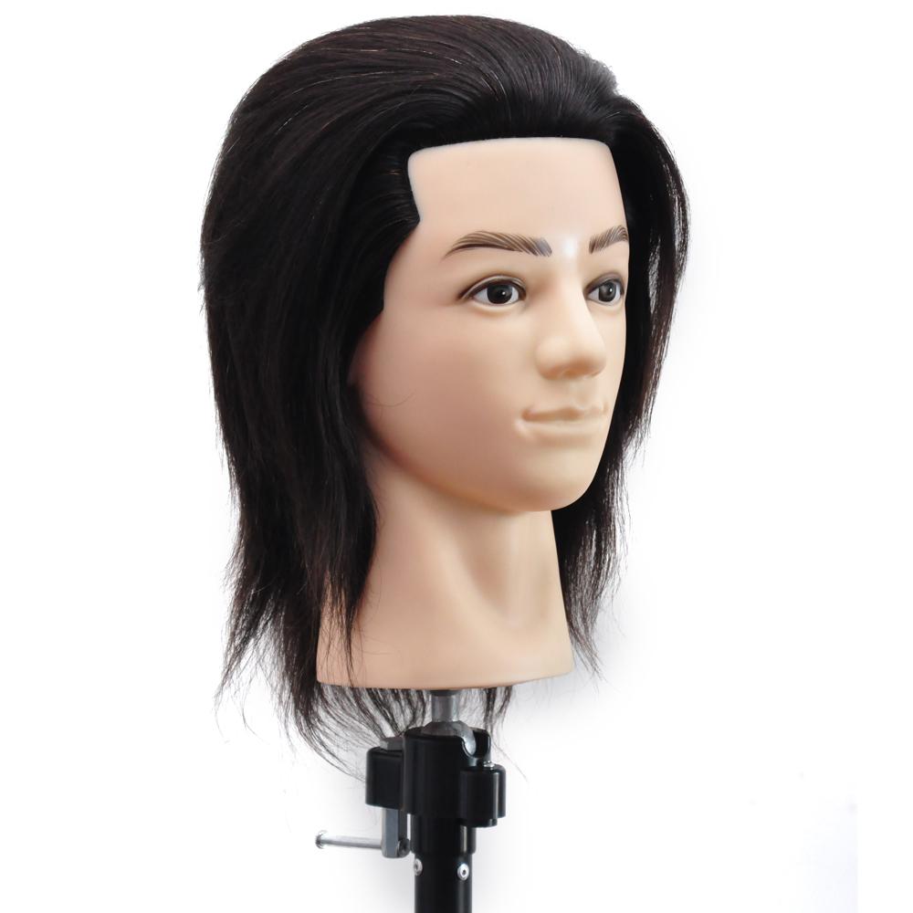 pas cher style t te de mannequin poup e r el taille brown cheveux pour coiffeur mannequins id de. Black Bedroom Furniture Sets. Home Design Ideas