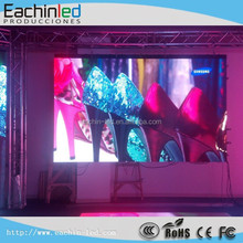 Video wall advertising high resolution P4.81 hd super thin LED screen video