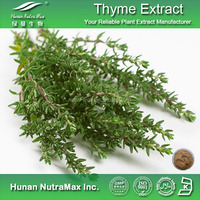 Hot Sale Plant Extraction Thymus Vulgaris Extract 10%-90% Thymol , Thymus Vulgaris Oil , Thymus Vulgaris
