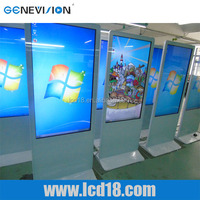 55 inch LED display oem touch advertisement signage ad player Interactive all in one PC