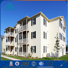 Modern Design High Rise Light Steel Frame Prefab Apartment Houses