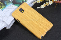 For Samsung galaxy note 3 n9000 cell phone wood grain cover case