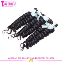 100% hand tied virgin indian remy hair weft unprocessed indian hair extension natural hair extensions