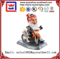 Polyresin Garden Gnome Ride a Bike Statue
