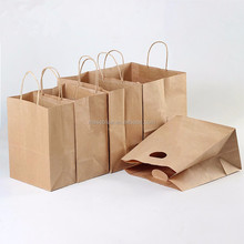 Cheap Kraft Paper Gift Bags With Handles