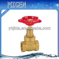 Precisely brass gate valve designed by Japanese supplier.