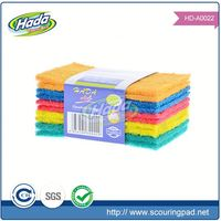 Home appliance cleaning scouring pad material for kitchen