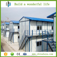 Multi - storey security precast houses architectural steel structure building plans