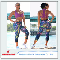 Factory OEM Custom Design Breathable Sports Wear Fitness Gym Yoga Sets, Activewear For Ladies Yoga Set Suits