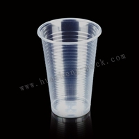 6oz clear plastic cheap pp material disposable tumblers