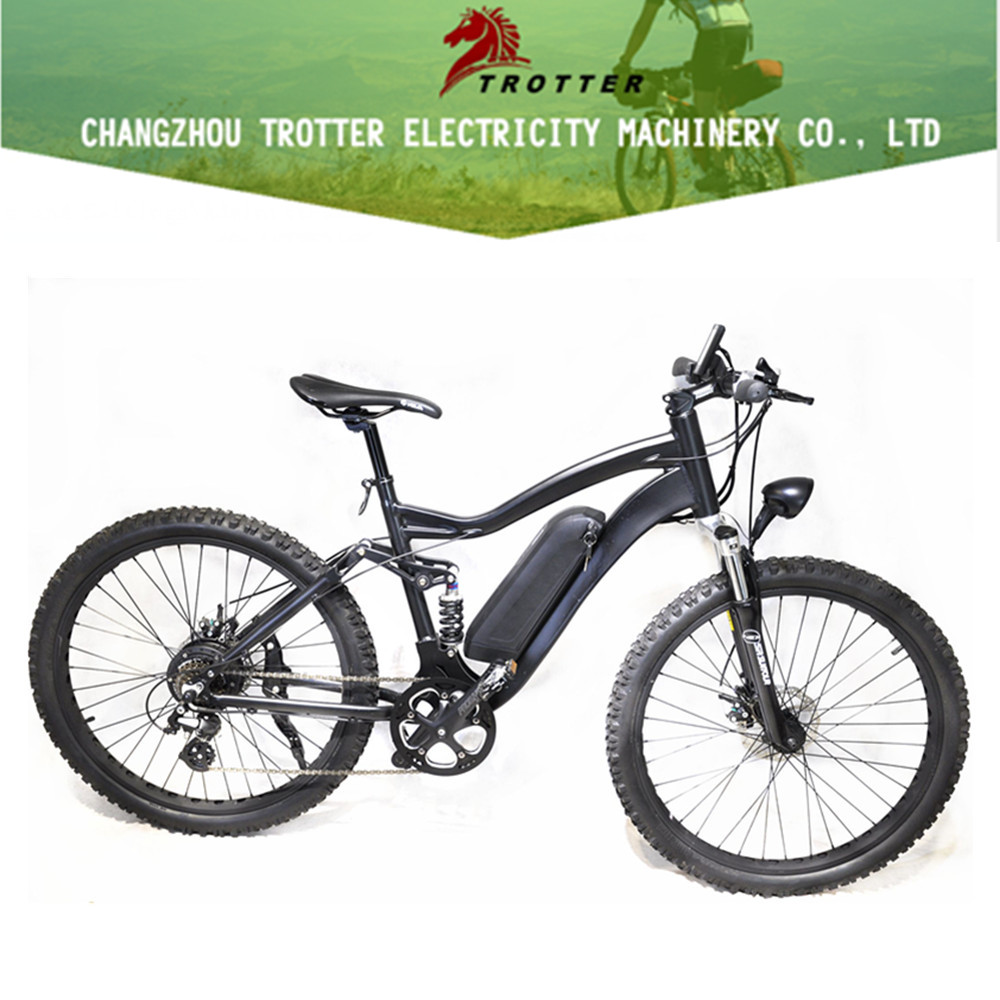 Trotter electric long range 50km mountain bike 36V 250W electric bicycle