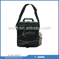"Wholesale Compact messenger bag with 13"" laptop padded compartment high quality Men Fashion sport bag"