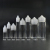10ml 30 ml 50ml 60ml 100ml 120ml Clear black blue orange pen shape e cigarette liquid PET Gorilla unicorn bottles