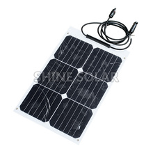 18w Thin film portable mini solar panel for iPhone 6s/6/Plus iPad Galaxy S6/S7/Ed