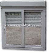 PVC Sliding Window with Electric Roller Shutter