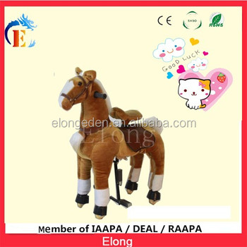Cheap Children Walking Horse /Mini mechanical Pony walking for sale
