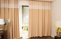 2016 new design fancy curtain valances luxury lace curtain