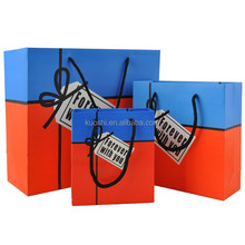 Luminous luxury shopping paper bag different design manufacture