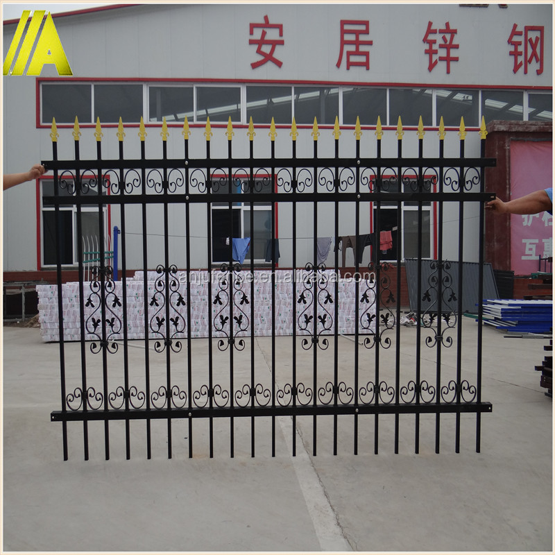 ANJU- DK020 ISO9001:2008 water-proof durable commercial metal fence