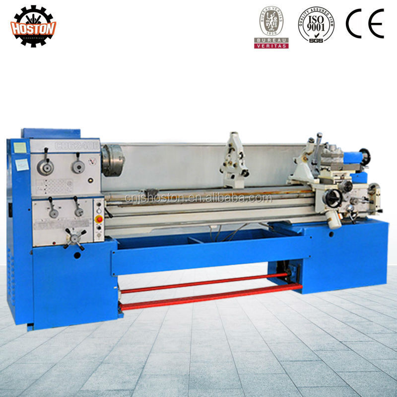 Hoston CDB series full function turning manual lathe machine with 3 jaw chuck