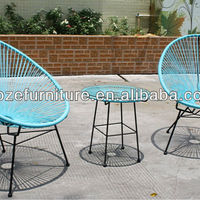 Hot Sale Acapulco Chair Outdoor Turquoise
