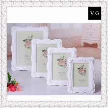 Wooden picture frame / European style classical antique frame