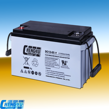 Indusrial electric VRLA sealed lead acid AGM battery 12v65ah maintenance free deep cycle storage solar battery