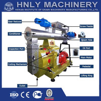 Factory supply poultry feed pellet mill / machine to make animal food