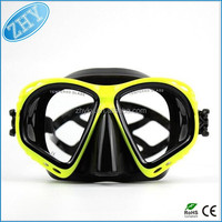 Newest Underwater Diving Mask Snorkel Set Swimming Training Scuba full face snorkeling mask Anti Fog