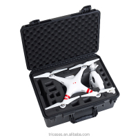 Shanghai China OEM/ODM Factory Tricases Hard Plastic professional carrying waterproof dji phantom 2 vision v3.0 case