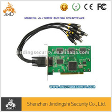 8Channels Real Time PCI DVR Card