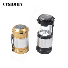 Outdoor Travel Sleeping Bag Lights Lantern Tents Lamp Emergency Charging Light Battery Powered Lantern Led Camping Solar Light