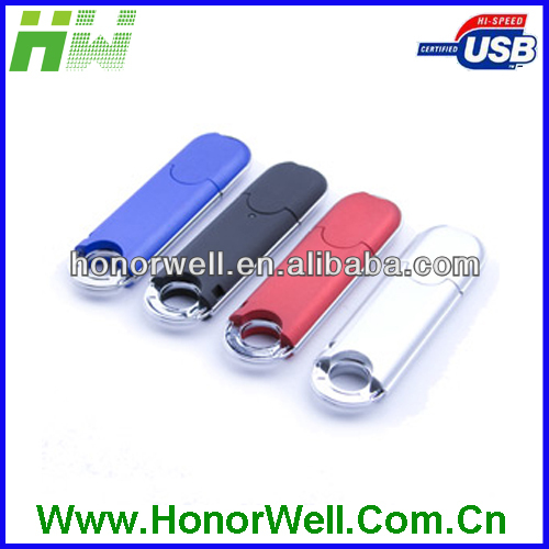 Software Touch High quality plastic usb thumb drive for free logo