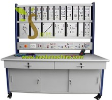 Electrical Protection Training Workbench Electrical Educational Equipment Vocational Training Equipment for University, college