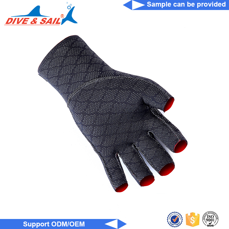 High Quality Water Sports Neoprene warm neoprene webbed diving swimming gloves