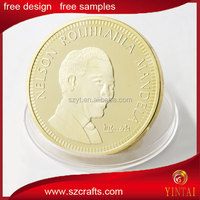 South Africa gold commemorative coin,Nelson mandela coin , liberty & freedom coin