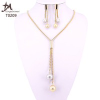 T0209 Fashion Wholesale earring and necklace set