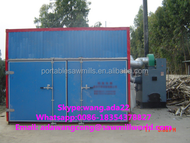 Kiln Drying Wood Equipment Lumber Dry Kilns For Sale