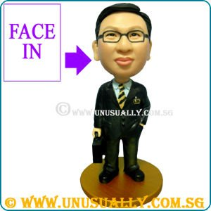 PERSONALIZED 3D MALE IN OFFICE WEAR FIGURINE - PERFECT CUSTOMIZED CORPORATE GIFTS