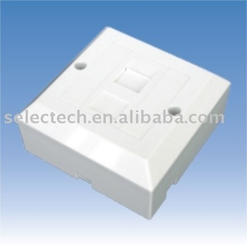 1 port face plate back box keystone wall plate