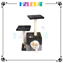 Cat Tree Kitty Tree Condo Furniture Scratch Post Pet Play House for Training