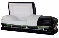 Import cheap goods from china metal casket