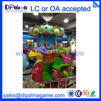 New fashion design amsement park kids rides music mechanical turntable