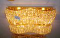 Customized hotsell ceiling lamp crystal light VOL