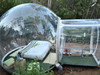 Camping movable commercial inflatable bubble lodge tent