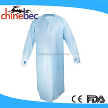 Hospital Disposable Clothing Patient Gown/Esd Smock/Kids Disposable Lab Coats