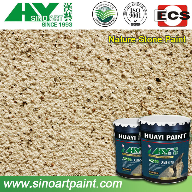 Non-toxic and versatility acrylic urethane resin coating for wall decoration
